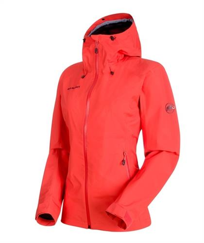 MAMMUT CONVEY TOUR HS HOODED GIACCA DONNA NOW `2018