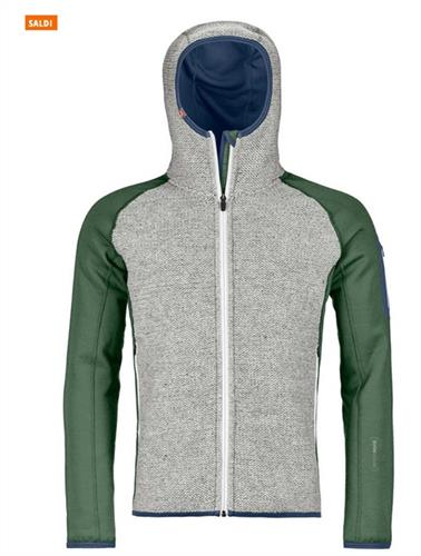 ORTOVOX FLEECE PLUS CLASSIC KNIT HOODY